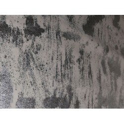 Terciopelo graffiti blanco
