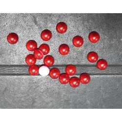 Semiperlas Hotfix Rojo